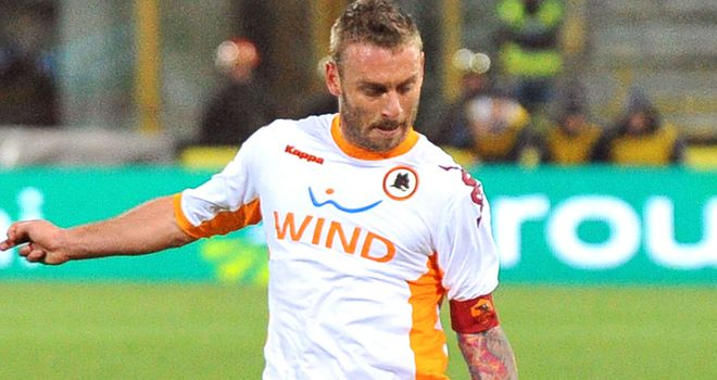 De Rossi: Linked with English switch