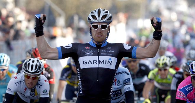 Farrar: Refound his form after a difficult few months to take a convincing win in Holland