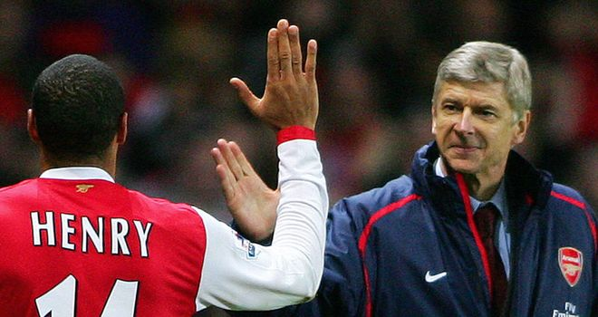 Arsene Wenger: Happy to have Thierry Henry returning on two-month loan deal