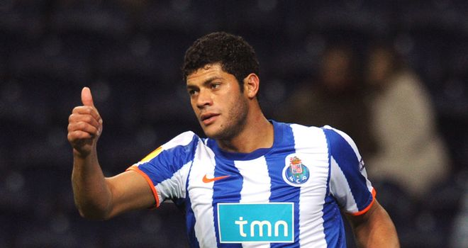 Hulk: The FC Porto striker could be a Janaury target for Chelsea - according to his agent