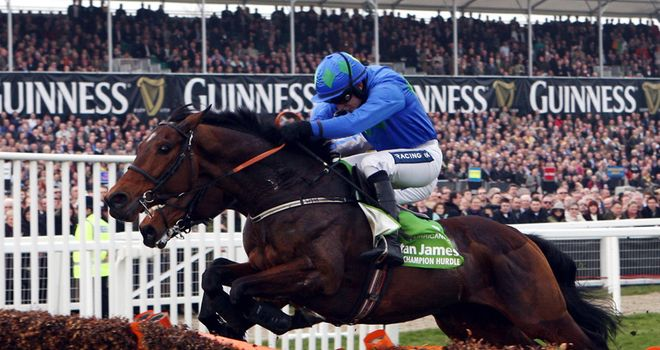 Hurricane Fly: Champion Hurdle delight