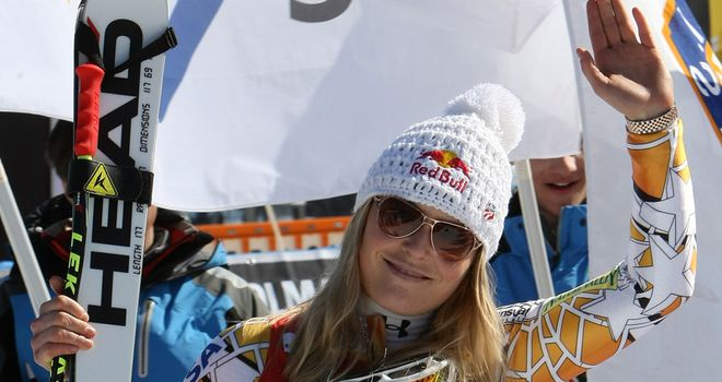 Vonn: Downhill queen