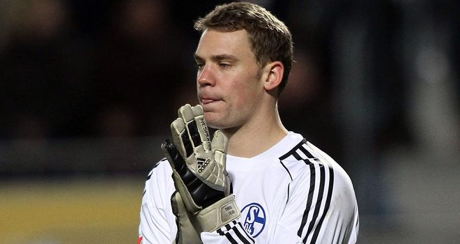 Neuer: Set to leave Schalke in the summer