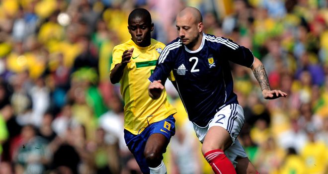 Hutton: A top target of former Rangers and Scotland boss McLeish