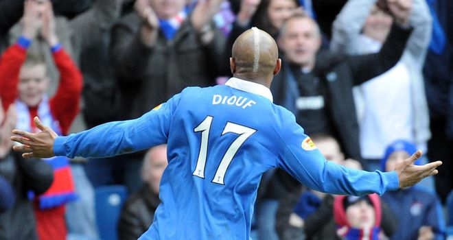 Diouf: A free agent after leaving Blackburn and training with Preston to keep up his fitness