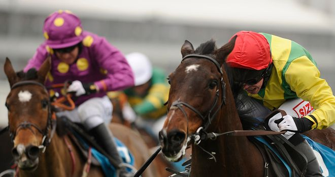 Sizing Europe storms to Champion Chase glory from Big Zeb at Cheltenham