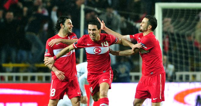 Turan: Showing his skills at international level with Turkey