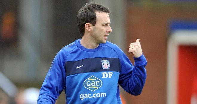 Dougie Freedman: Taking a look at midfielder Danny Rose in training