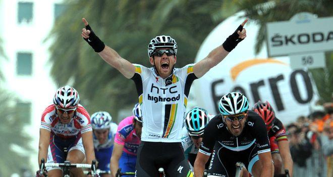 Goss: Celebrates his win