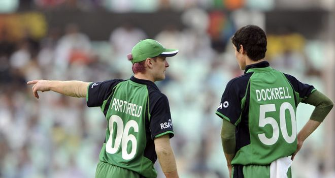 Leading light: Porterfield was proud of Ireland's World Cup efforts