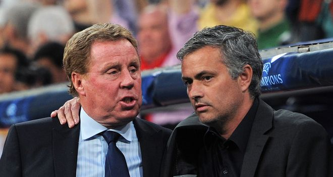 Mourinho: Expects Redknapp to come out all guns blazing at White Hart Lane