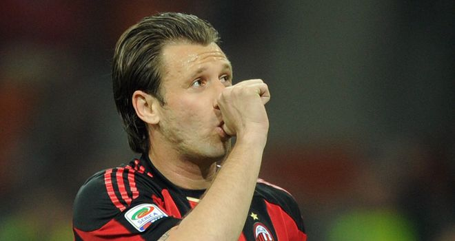 Cassano: Committed to Milan