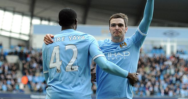 Adam Johnson: Manchester City winger expected to become a real star over next few years
