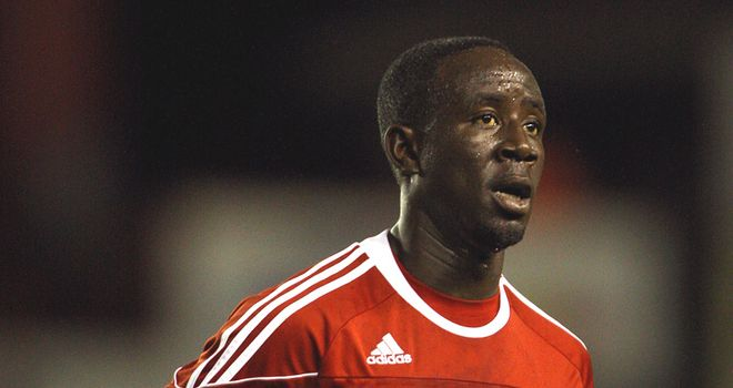 Albert Adomah: Back training with Bristol City after returning from the African Cup of Nations