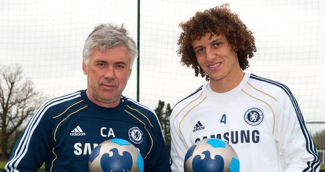 Ancelotti & Luiz: Productive month