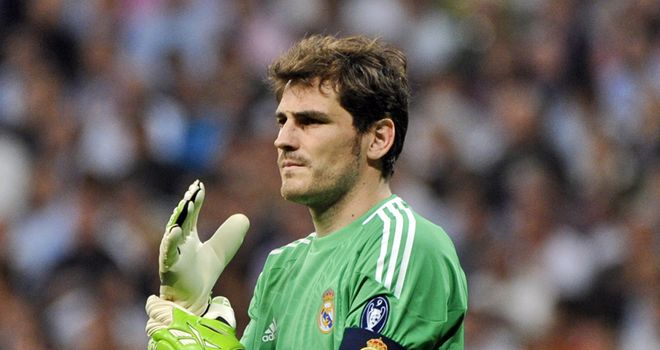 Casillas: Has earned praise from rival and Spain team-mate Valdes