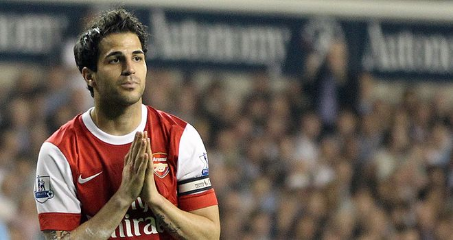 Fabregas: Set to be the subject of more interest from Barcelona this summer