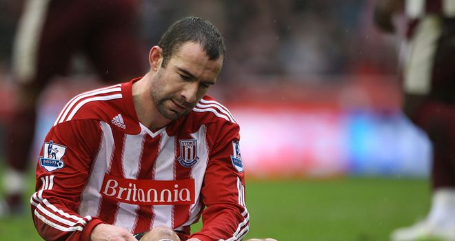 Higginbotham: Has been included in Stoke's 25-man squad for the first half of the Premier League season