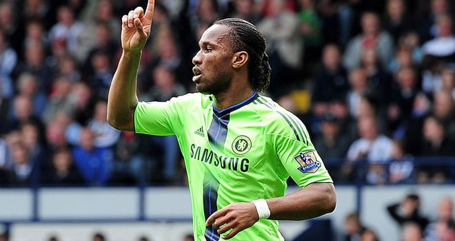 Drogba: Chelsea striker hailed as a 'mainstay' by Gourlay