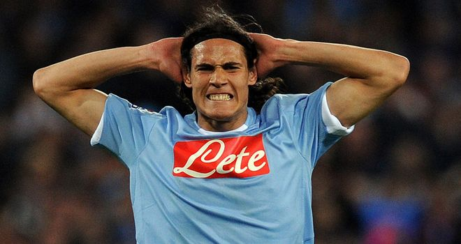 Cavani: Will not be joining United this summer according to his agent