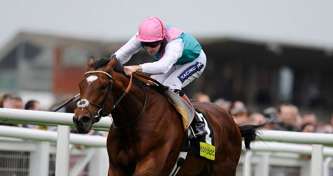 Frankel has the bookmaking fraternity running scared.