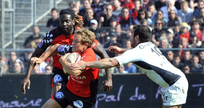 Jonny Wilkinson: Has extended his contract with Toulon for another year