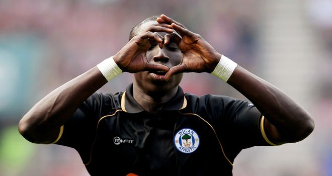 Mohamed Diame: Midfielder is fit again and ready to battle for Wigan against Chelsea on Saturday