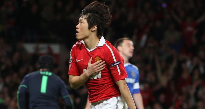 Park Ji-sung: Manchester United midfielder wants to pick up maximum points at Goodison Park