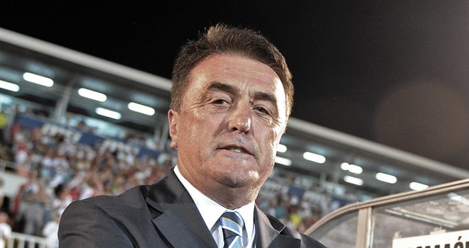 Radomir Antic: Former Real Madrid and Barcelona coach is keen to become Leeds boss