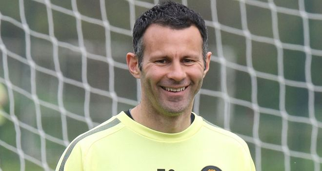 Giggs: Keeps impressing for Manchester United and Evra jokes it is down to his yoga!