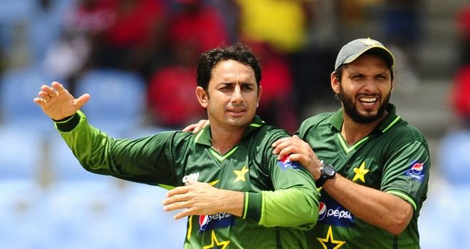 Afridi: Praised fellow spinner Saeed Ajmal for laying foundations for victory