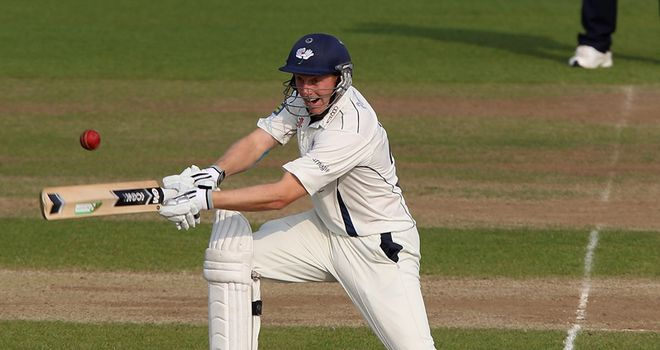 Rearguard: Gale batted Yorkshire to safety