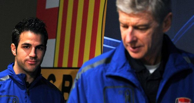 Wenger: Angry with quotes published by Spanish magazine about Fabregas