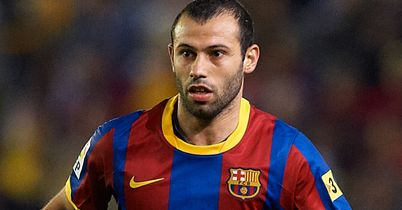 Javier Mascherano: Netted an own goal as Barcelona suffered a shock defeat