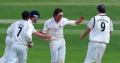 Kerrigan: nine wickets on the final day at Aigburth