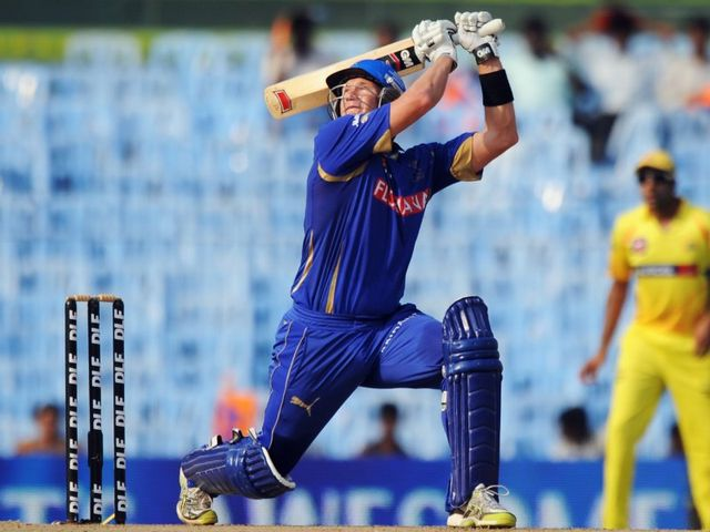 Shane Watson: Hit the first century of IPL 6