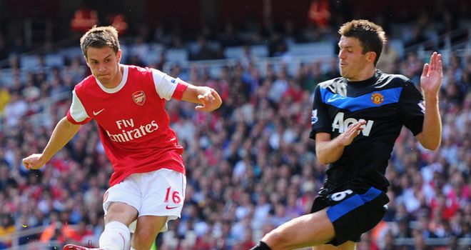 Aaron Ramsey strikes to earn Arsenal 1-0 victory over United