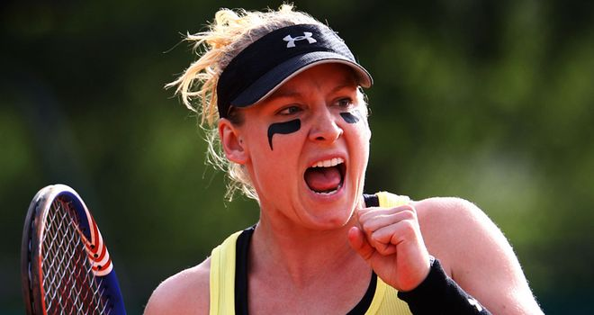 Bethanie Mattek-Sands: Beat seventh-seed Tamira Paszek in straight sets