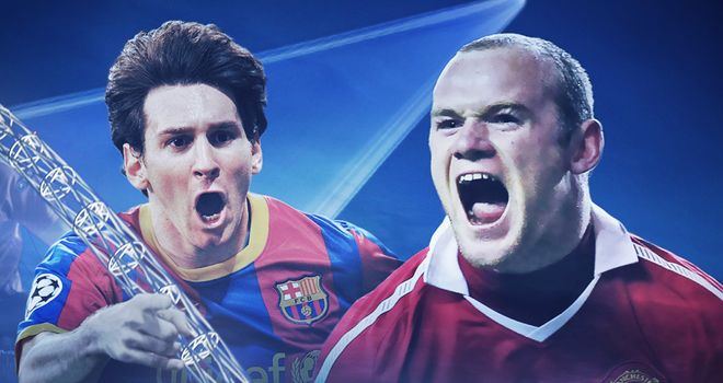 Barcelona and Manchester United do battle for European glory at Wembley