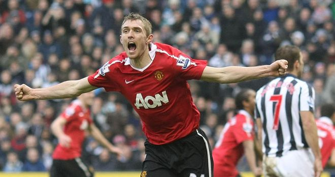 Fletcher: His return could make all the difference to United's defence of their league title