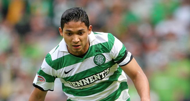 Izaguirre: Defender has been told to return to Celtic for assesment due to an injury