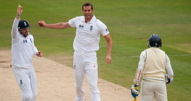 Tremlett: Took four second-innings wickets against Sri Lanka