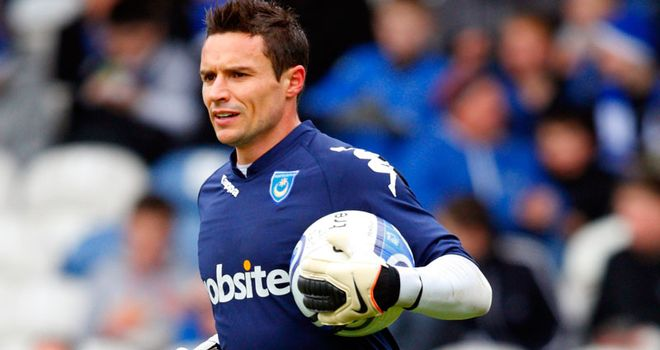 Flahavan: Former Portsmouth goalkeeper has signed one-year deal with Bournemouth