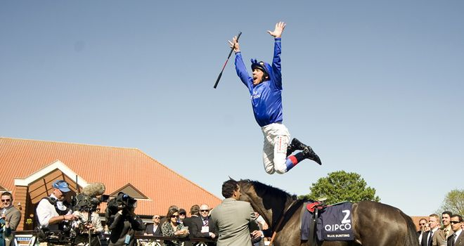 Frankie Dettori was delighted with the Guineas win.