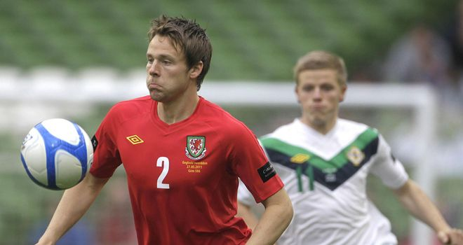 Chris Gunter: Hoping to play his part in a fitting tribute to Gary Speed in the game against Costa Rica