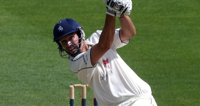 Martin van Jaarsveld was 'outstanding' for Kent, according to Key