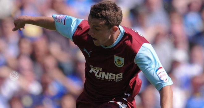 Rodriguez: At the double for Clarets
