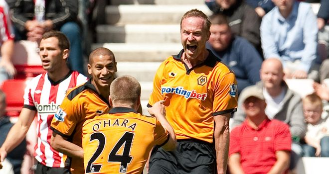Craddock: Confident of winning a new deal to stay at Molineux