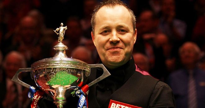 John Higgins: Man to watch at the Crucible