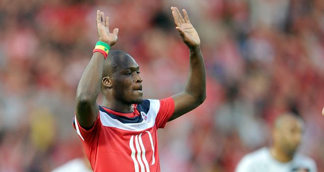 Moussa Sow: Lille striker topped the goalscoring charts in France last term
